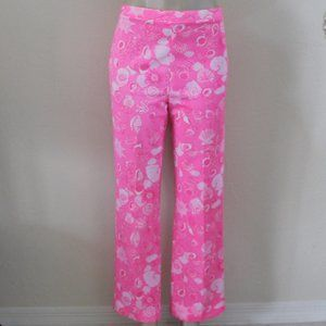 Vintage Lilly Pulitzer Shell Print Pants